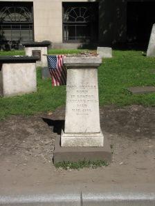 Paul Revere's gravestone