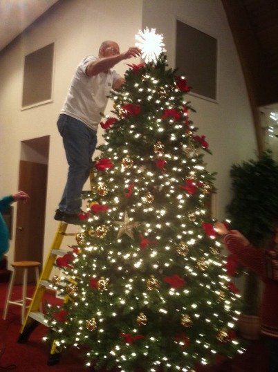 Jeff tops the tree