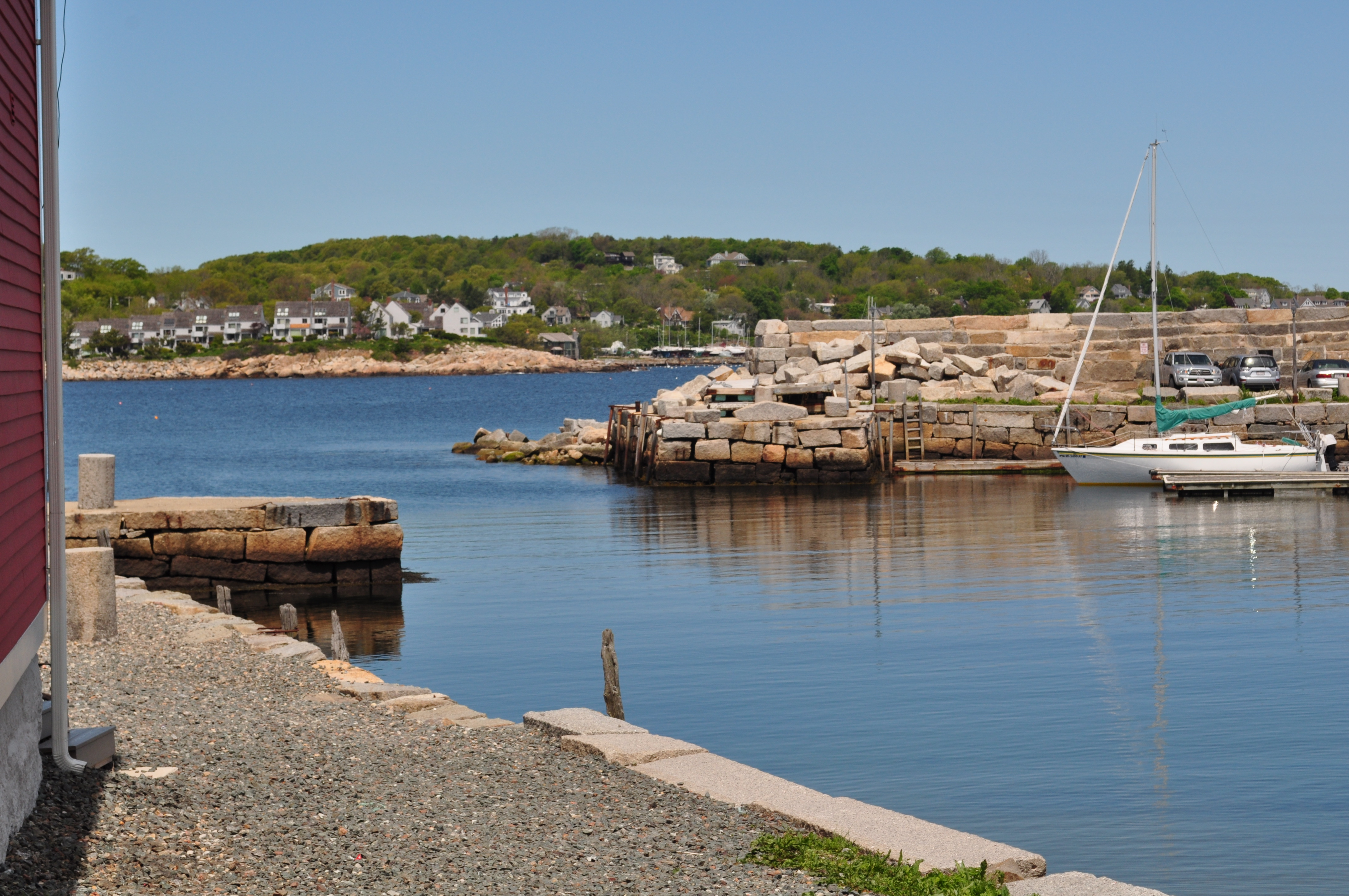 New england fishing village on target for New england fishing