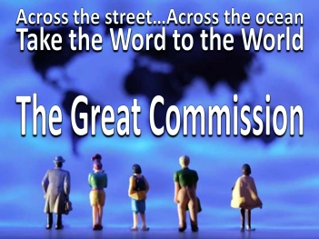 Image result for the great commission