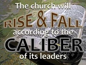 The High Call of Church Leadership