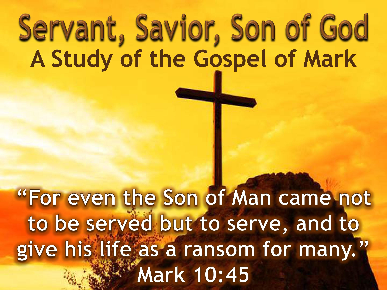 Servant Savior Son Of God On Target