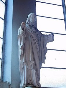 Christ with no hands