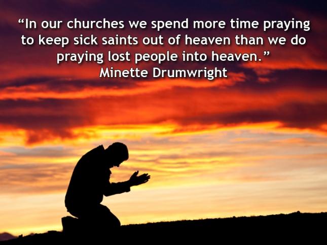 Pray for the harvest