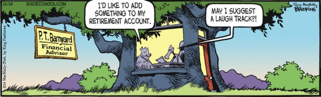 Shoe - retirement account
