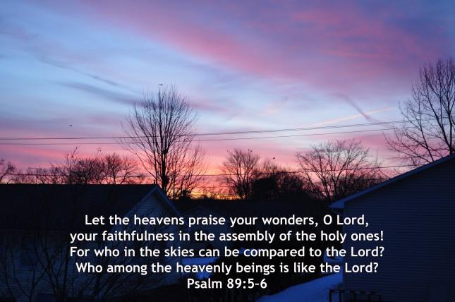 Psalm 89-5-6