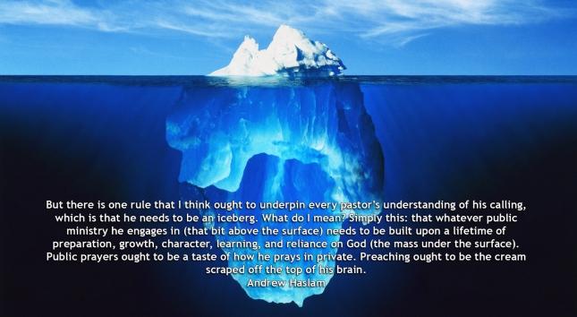 iceberg pastor