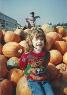 Amanda-3 Pumpkin Patch Oc 1991