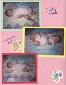 Amanda-4 months-July 1988