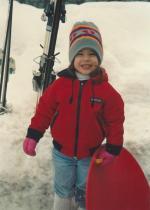 Amanda-Jan 1992-Snow Day!