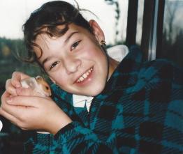 Amanda-Smokey Hamster Dec 98