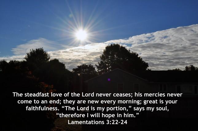 Lamentations 3-22-24