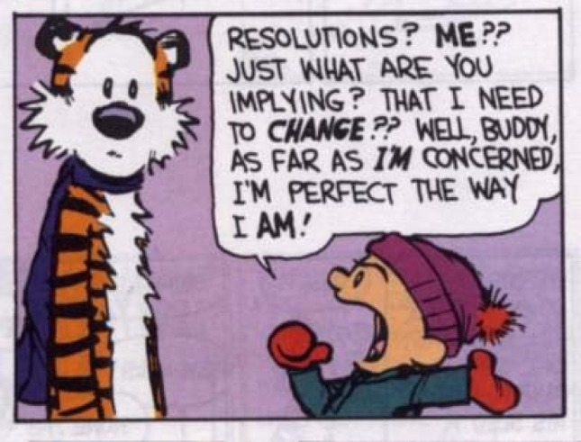 Calvin & Hobbes - Resolutions 1
