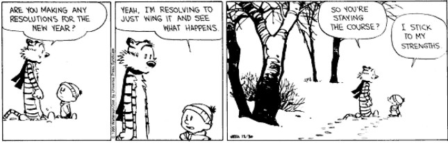 Calvin & Hobbes - Resolutions 4