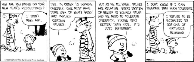 Calvin & Hobbes - Resolutions 6