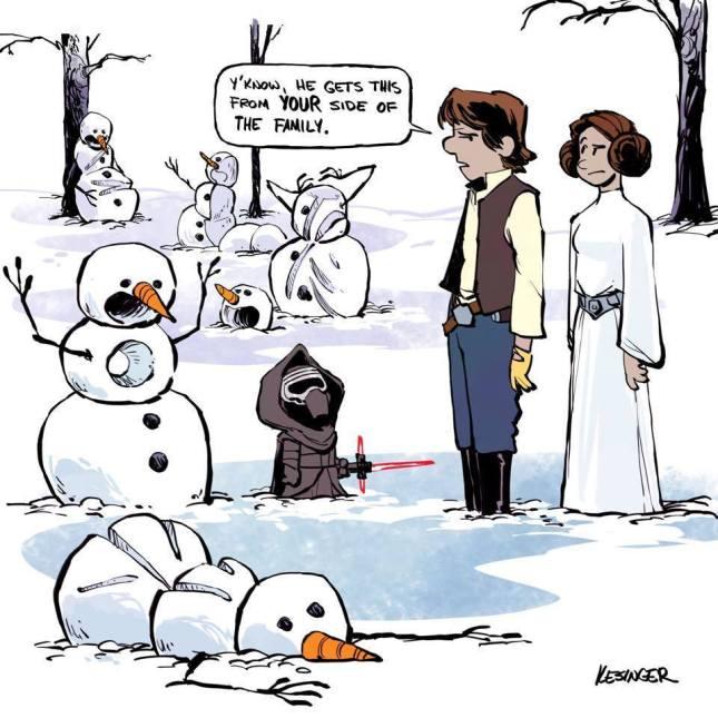 Calvin & Hobbes meets Star Wars