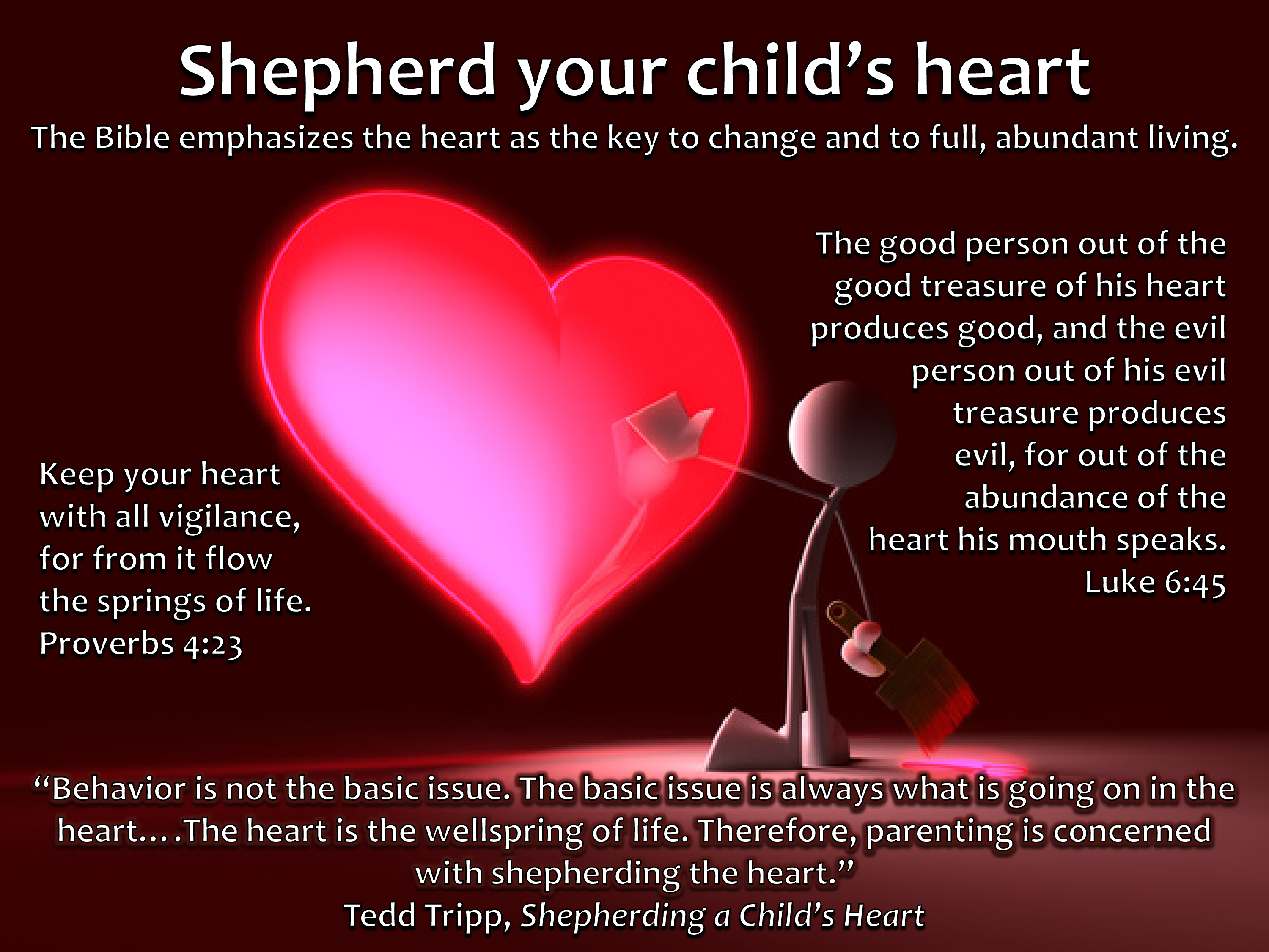shepherd your childs heart on target