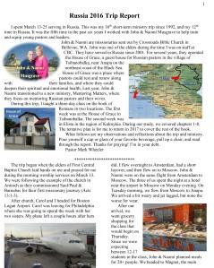 Russia 2016 Trip Report-1