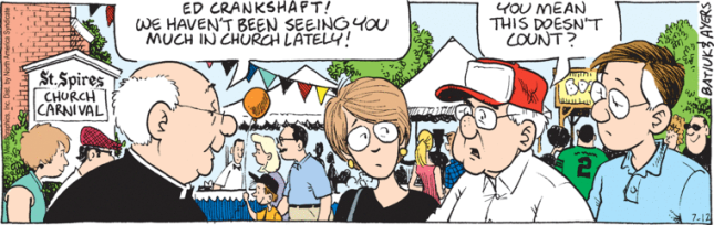 attending church carnival