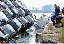 sinking-cars