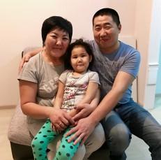 Mergen & Elza & daughter